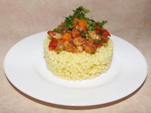 Кус-кус със зеленчуци