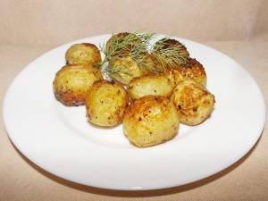 Пресни печени картофки