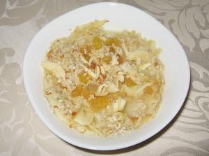 Закуска с овесени ядки