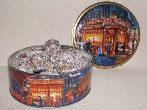Бонбони с лешници и лешников тахан