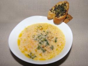 Супа от моркови и топено сирене