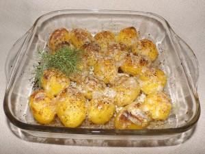 Печени картофки с кашкавал
