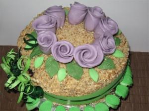 Торта с шоколадови блатове