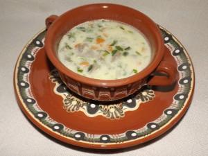 Супа от агнешки бял дроб